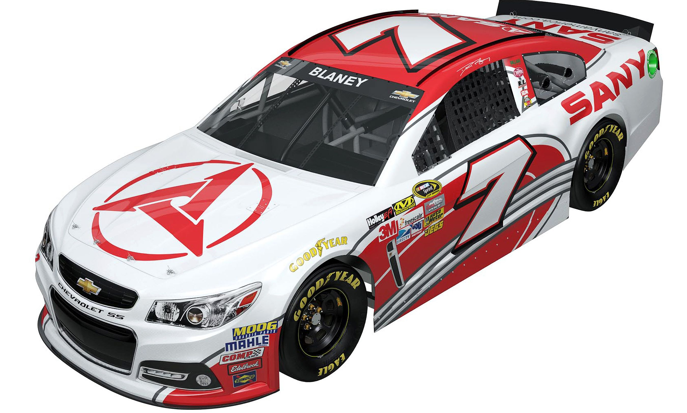Dave Blaney's #7 SANY Chevy for 2013