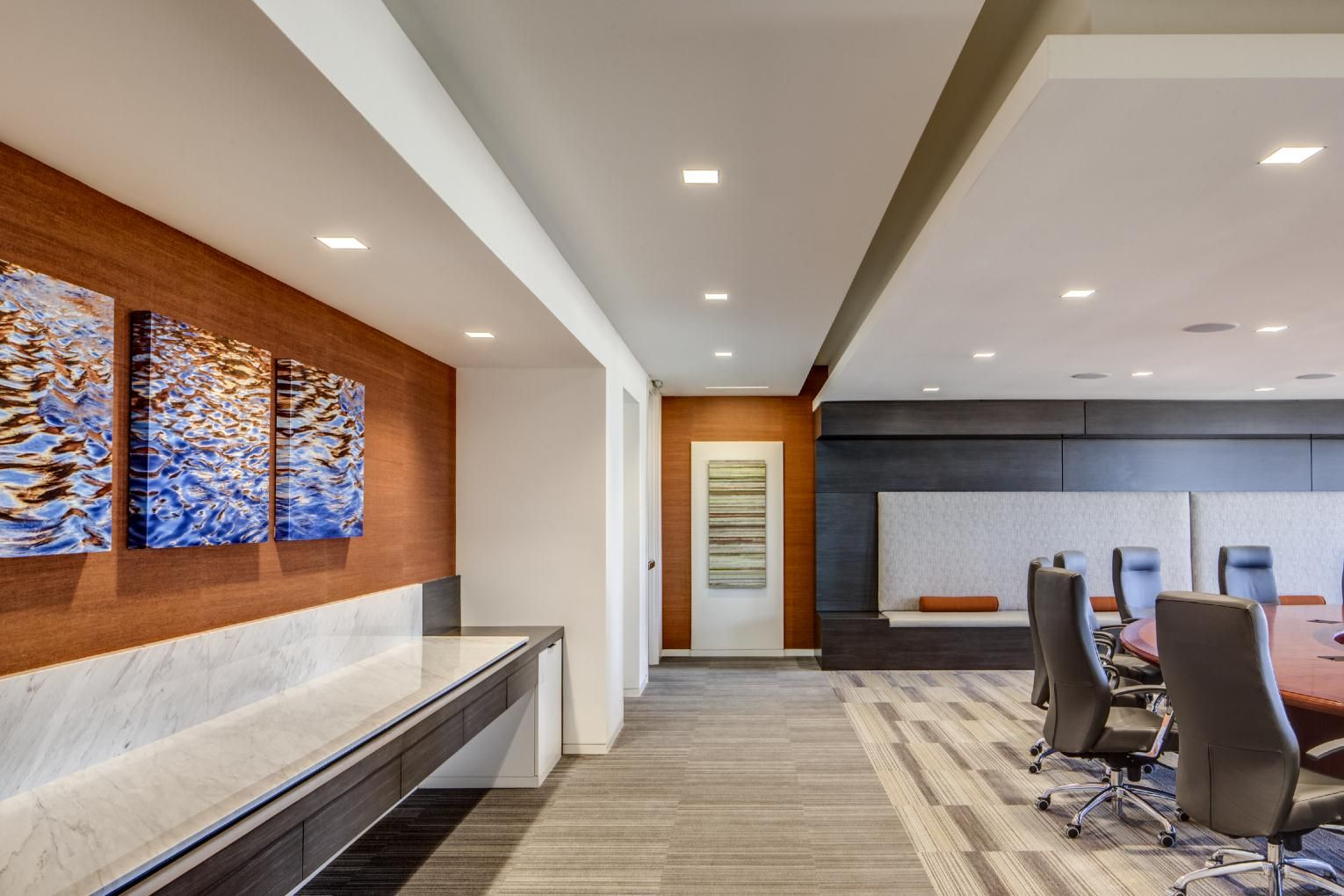 Corelogic Headquarters Conference Room Lobby Interior Design By H Hendy Associates Of