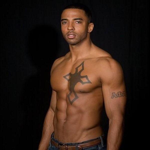 Simple Cross Tattoos For Men Chest