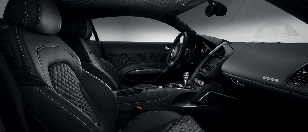 audi r8 interior automatic. quilted leather interior on the new audi r8 automatic