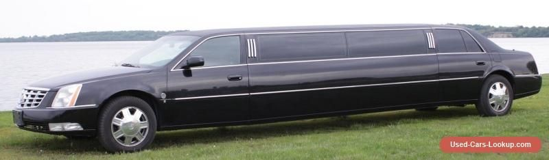 Cadillac Dts Limo Pinterest And