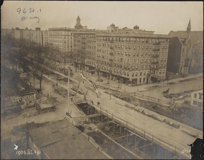 [Subway at 96th Street and Broadway.]