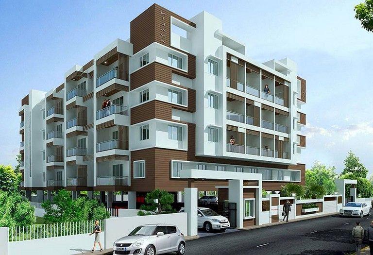 51 Awesome Modern Facade Apartment Decor Ideas Facade Design Apartments Exterior Building Facade