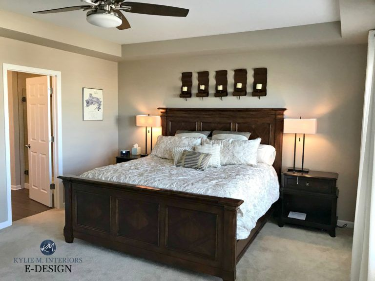 Sherwin Williams Barcelona Beige Best Neutral Paint Colour Bedroom With Carpet Dark