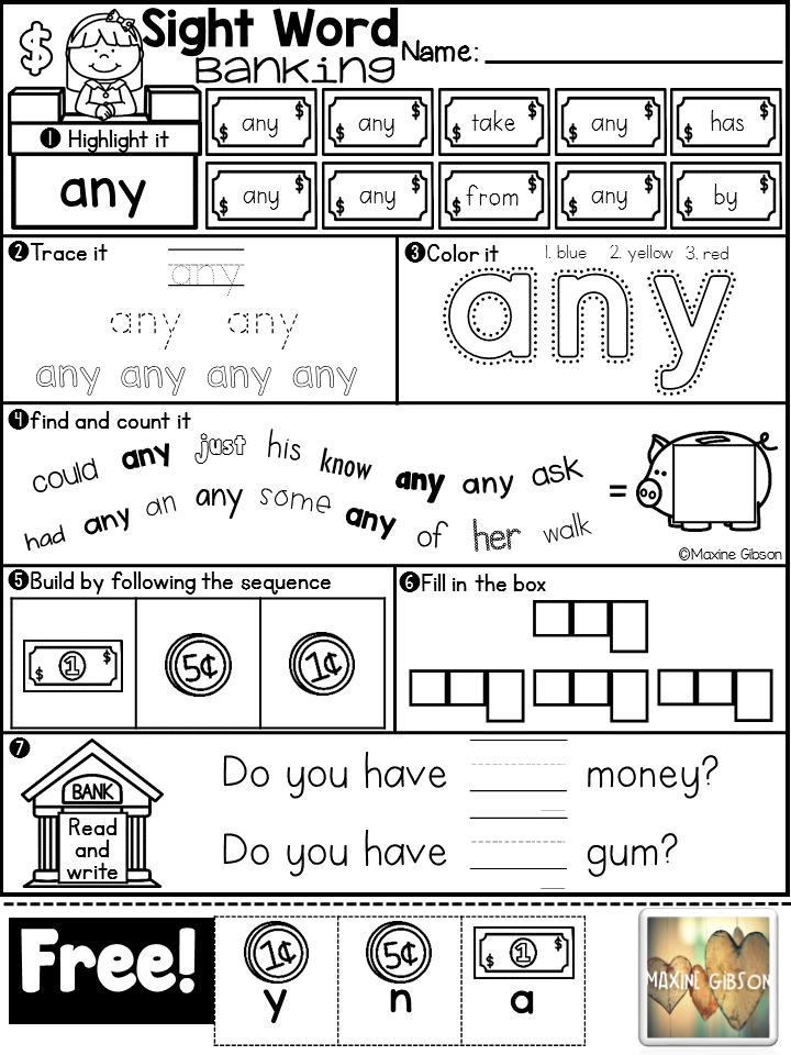 Free Kindergarten Reading First Grade Readingkindergarten