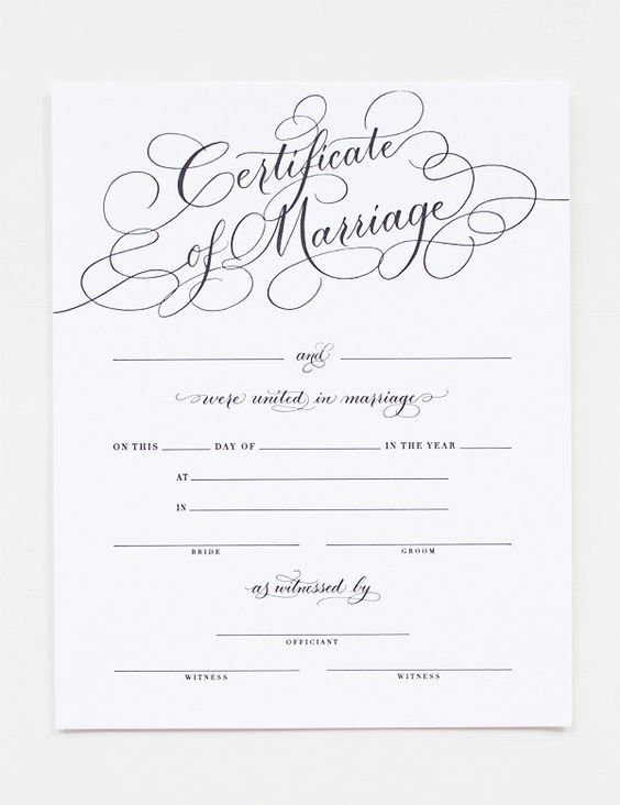 certificate marriage planner angela