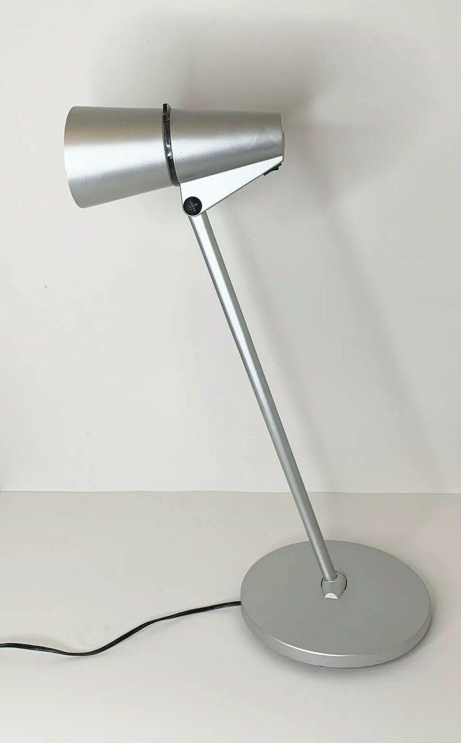 Details About Artemide Spy Lamp Silver Desk Lamp Designed By H