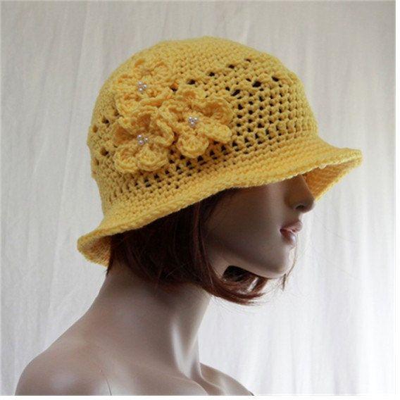 Sale Sale Summer Women Hat  Women Flapper Sun by endlesscreation