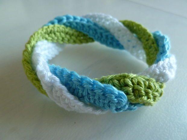 Infinite Circles Crochet Bracelet 1 1 1 Jewelry Pinterest