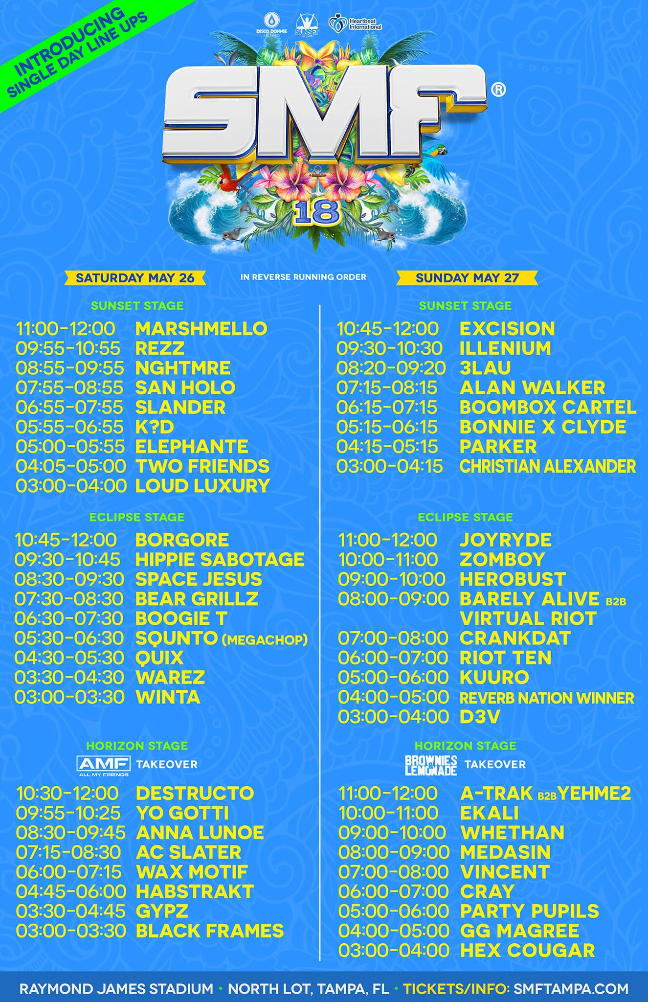 Pin By Sanigirl Replace Ew W Aah On Music Festivals Sunset Music Festival Festival Guide Music Festival