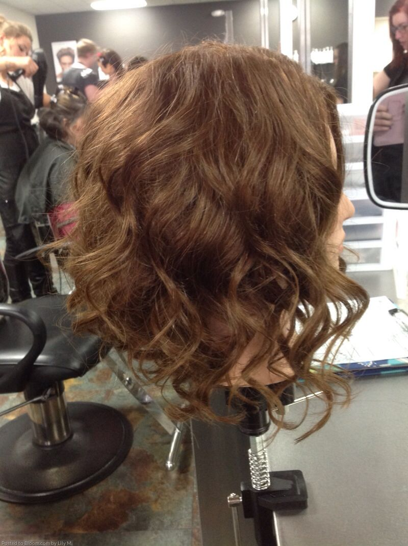 Angled Bob Thermal Curled Curled Hairstyles For Medium Hair Medium Hair Styles Aveda Hair