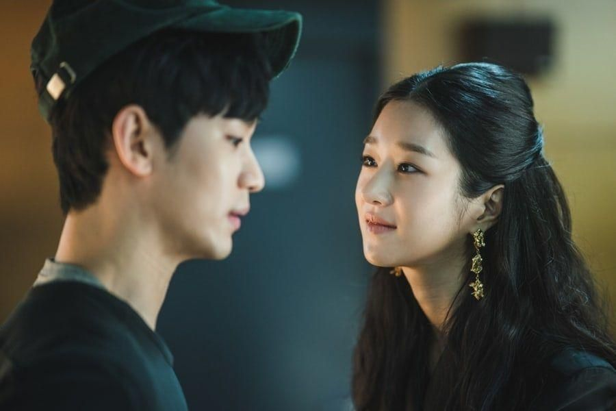 "Kim Soo Hyun And Seo Ye Ji Get Up Close And Personal In ""It's Okay To Not Be Okay"""