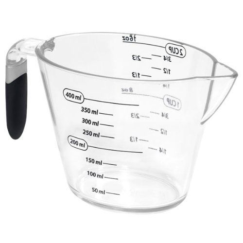 2-Cup Measuring-cup with Gray Handle