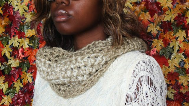 Diy Two Strand Crochet Cowl Free Crochet Pattern Crochet Hand