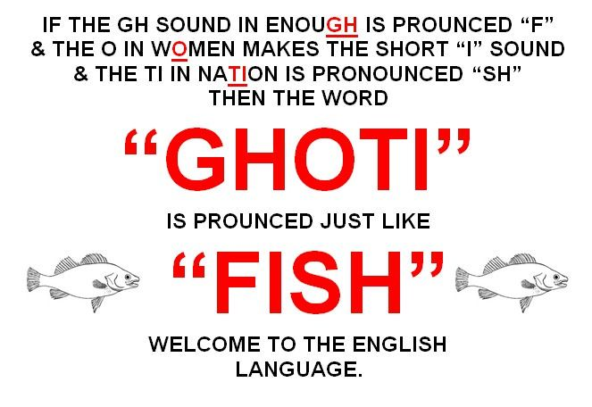 Welcome to the English language.