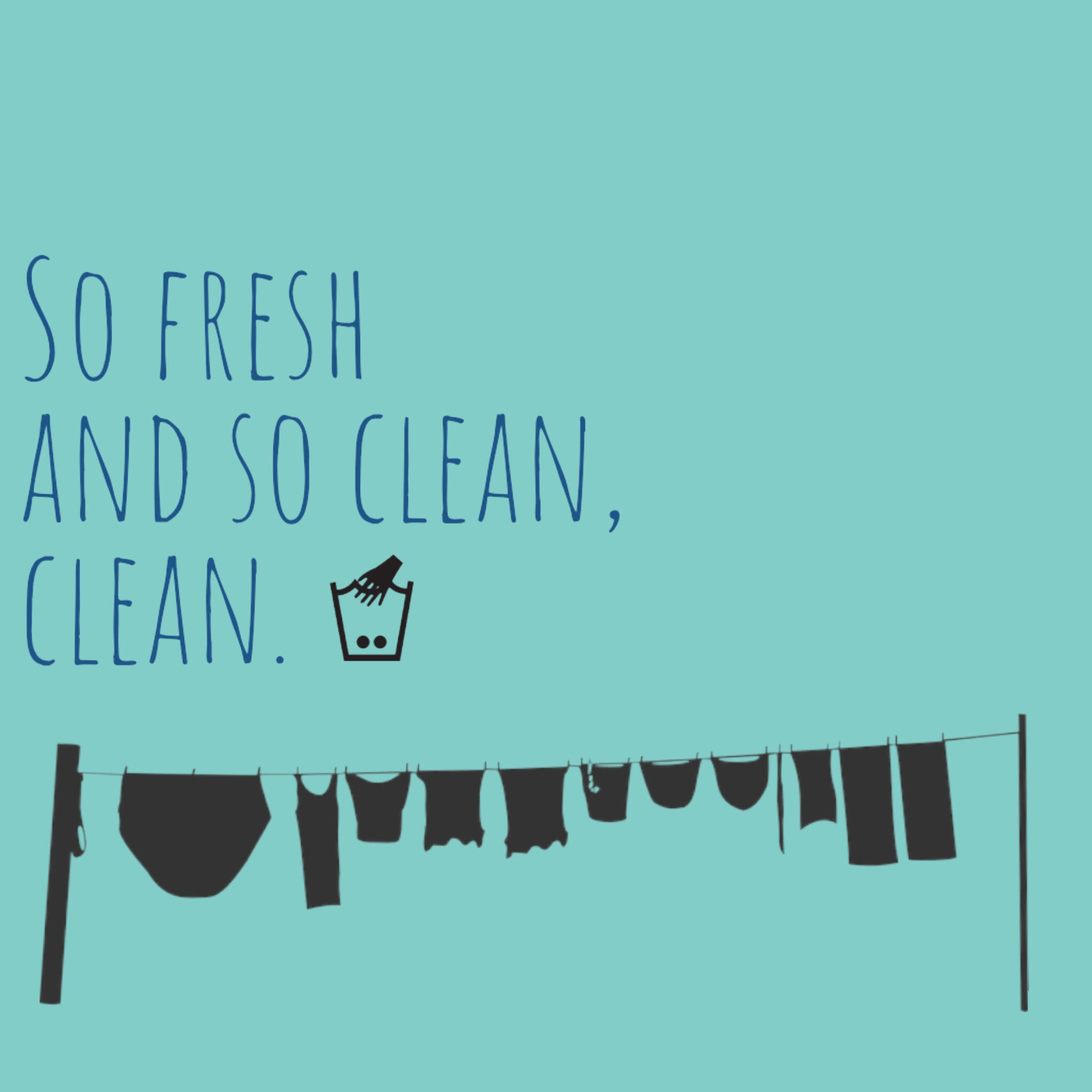 So Fresh And So Clean Clean Laundry Digital Download Clean