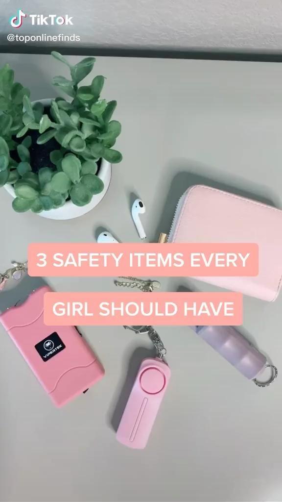 Tiktok Amazon Buys - Women Safety/Protection