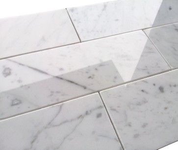 Grout Color For Carrara Marble Tile Carrara Marble Tile Grout Color Marble Subway Tiles