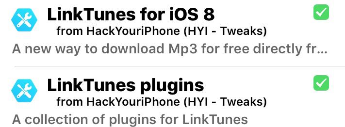 Free music downloads with linktunes | Cydia tweaks | Music