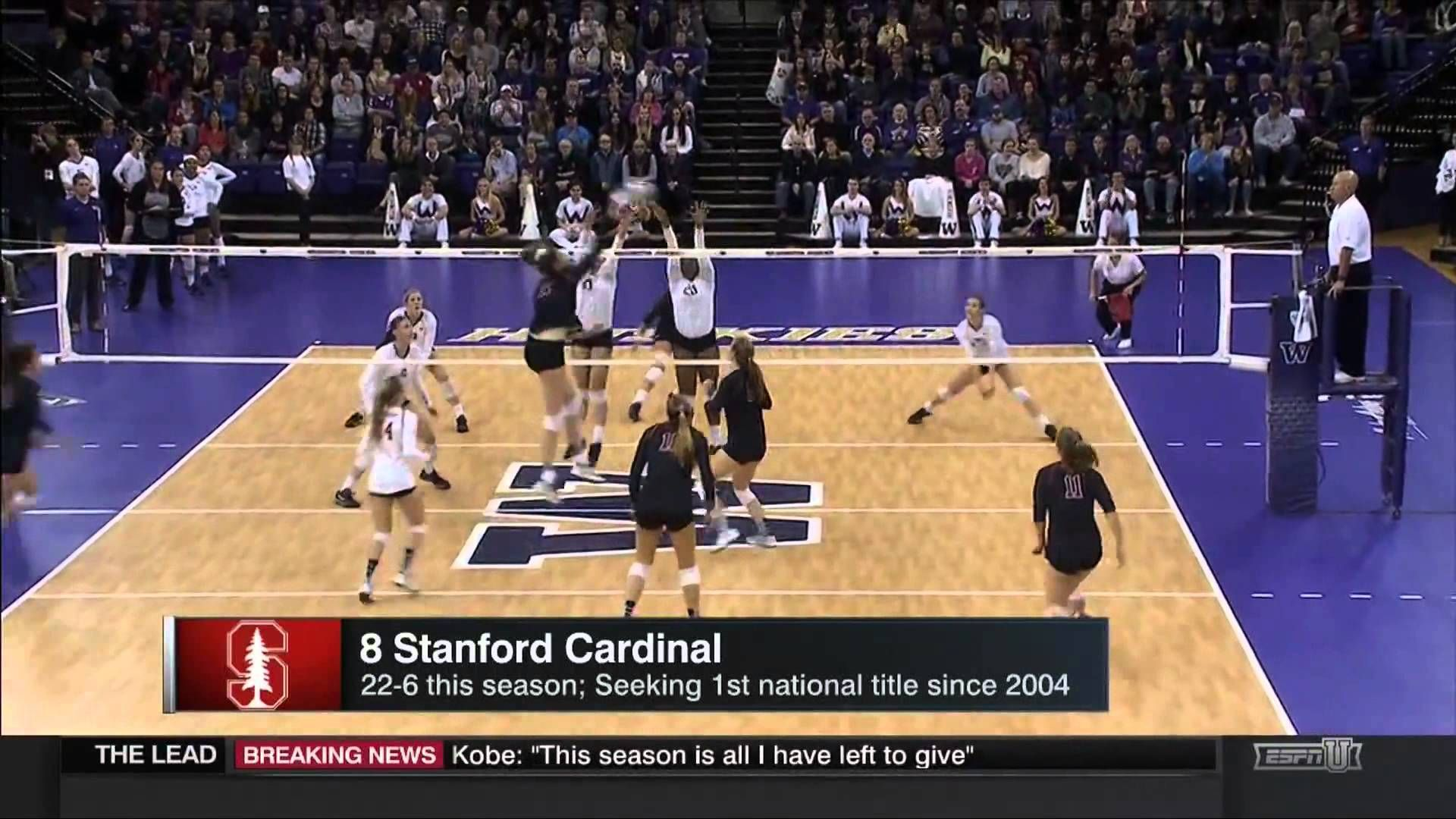 2015 29 Nov D1 Women S Volleyball Selection Show Women Volleyball Volleyball News Stanford Cardinal