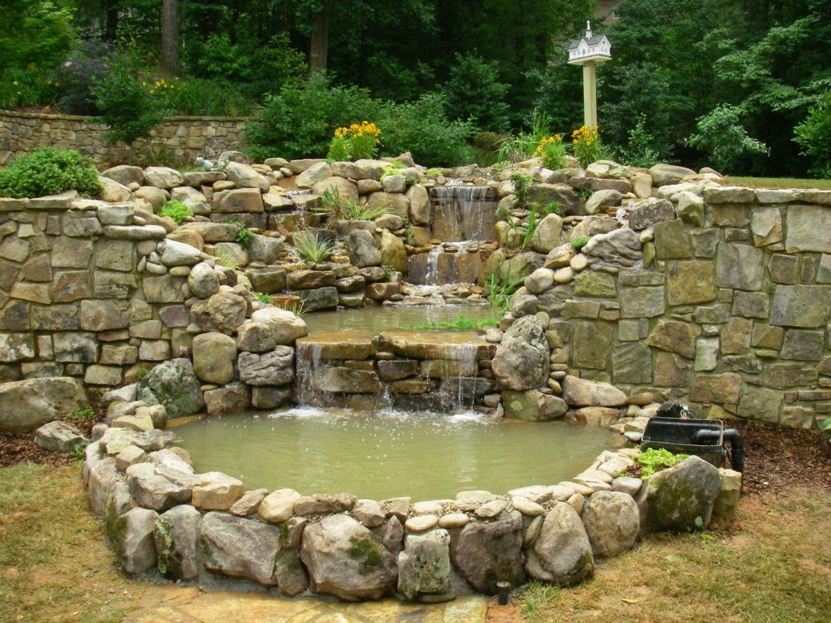 Atlanta Water Landscaping | Water Feature Installation | PondScapes Atlanta