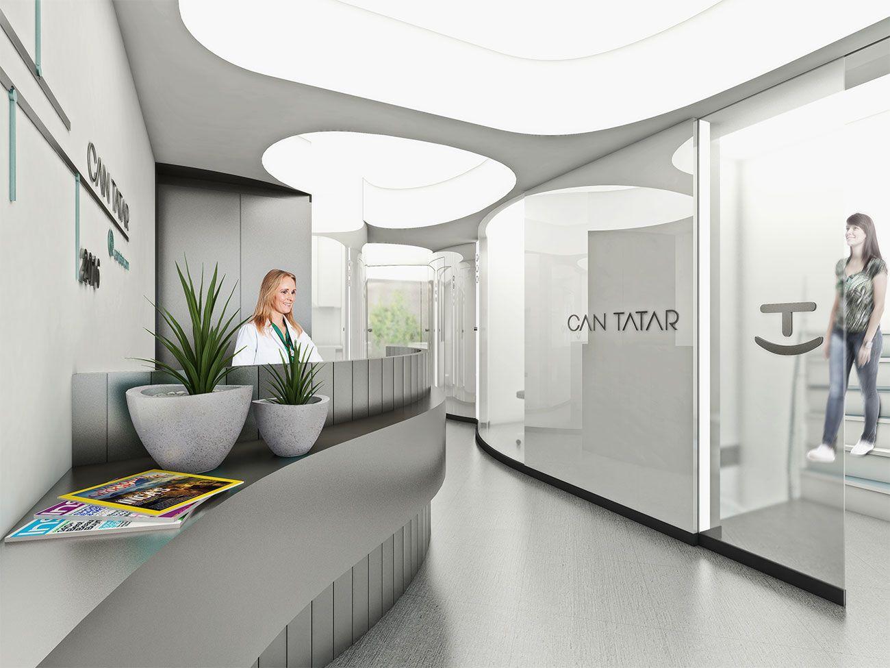 The Blob Dentist Office Clinic Interior Design Dental Office
