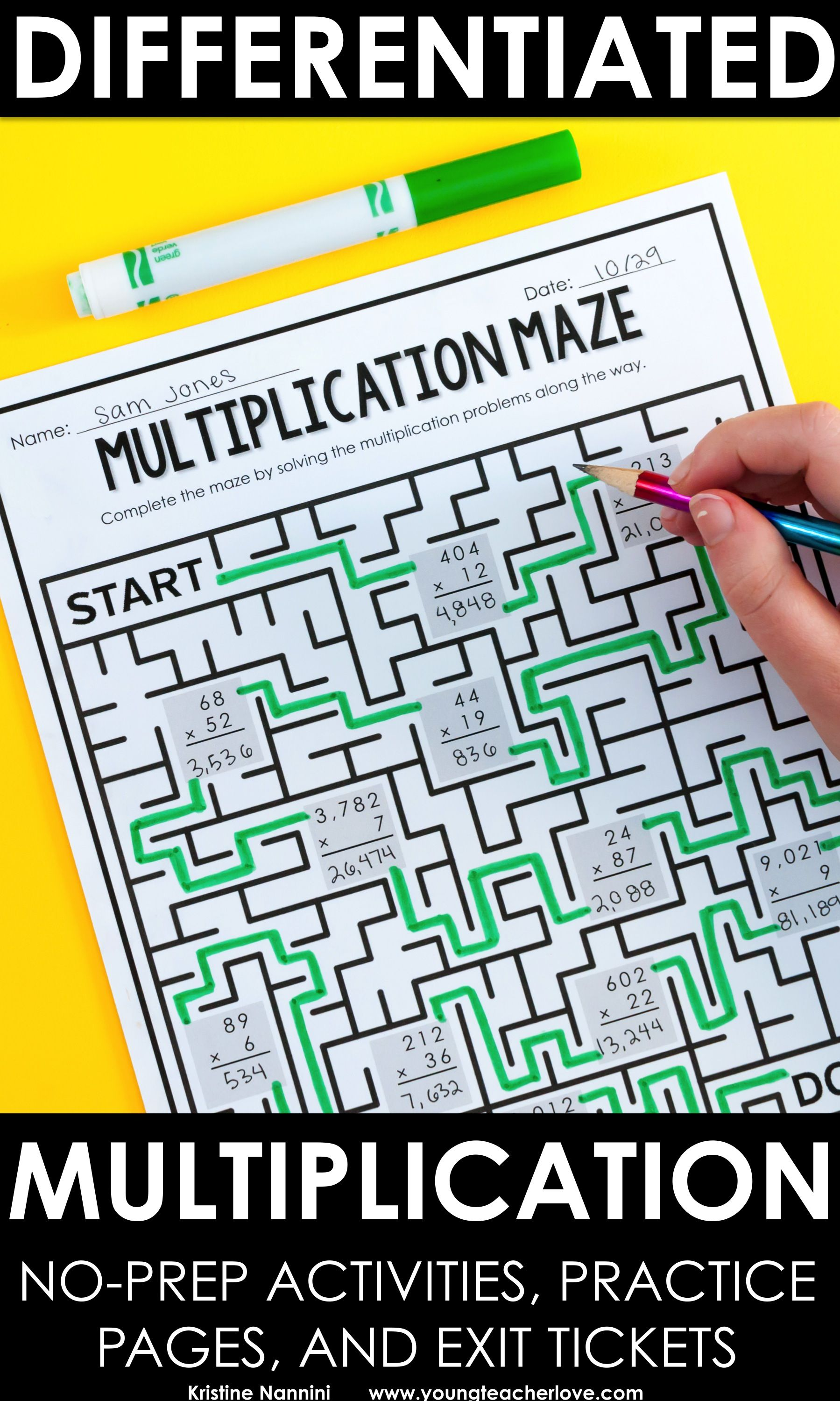 Multiplication Worksheets | Multiplication Games | Multiplication ...