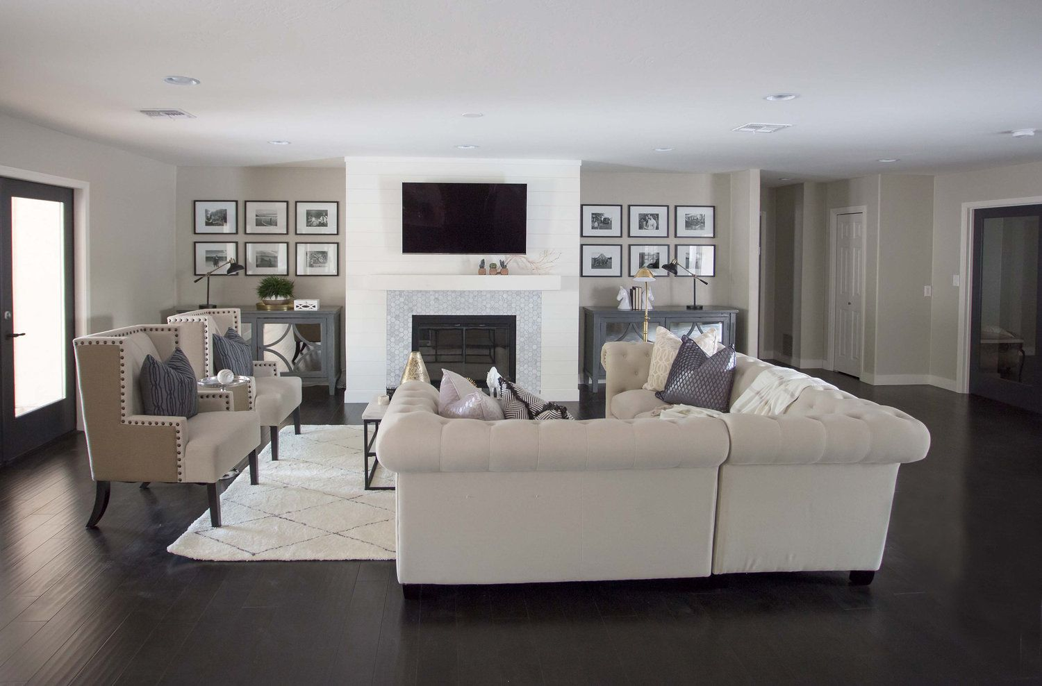 THE LifeStyled PANY Calle Del Acros Project Dark hardwoods