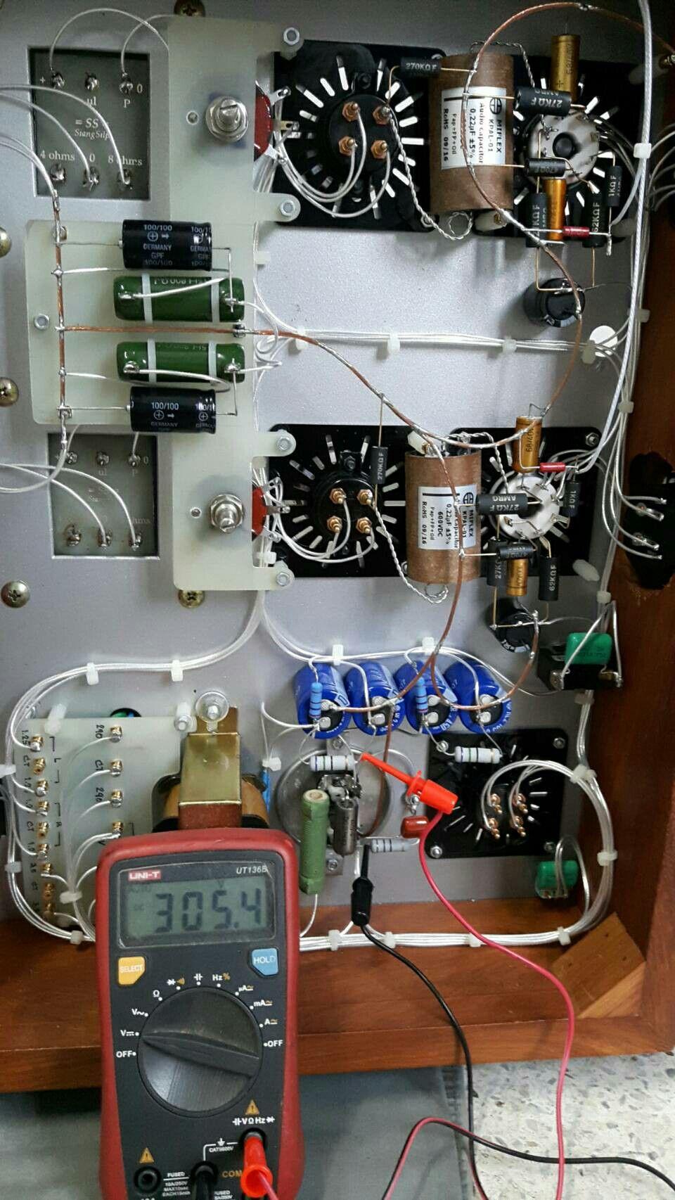 ปักพินโดย artit ใน 2A3 tube amp