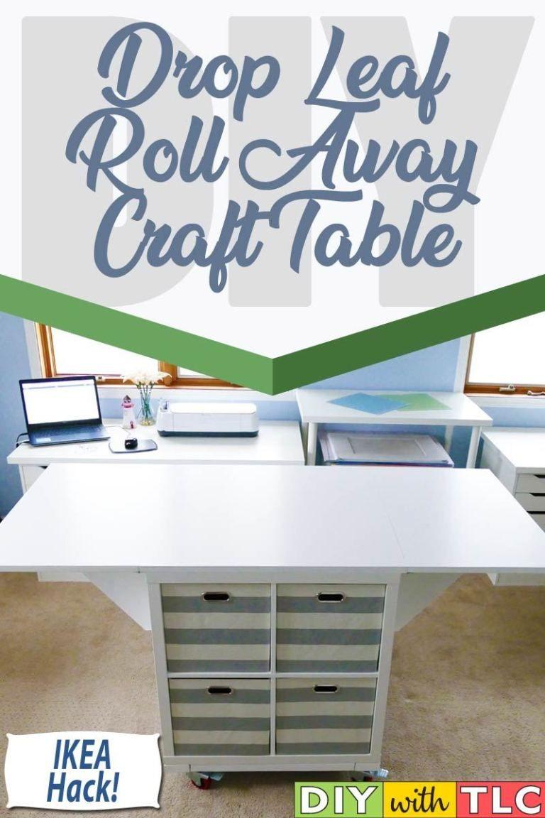 Drop Leaf Craft Table Craft Room Tables Ikea Craft Room Ikea