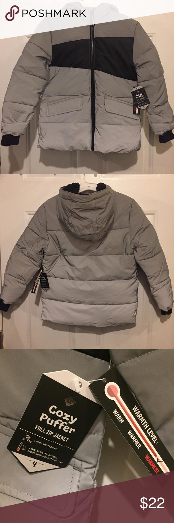 Member S Mark Boys Full Zip Cozy Puffer Jacket Jackets Puffer Jackets Clothes Design [ 1740 x 580 Pixel ]