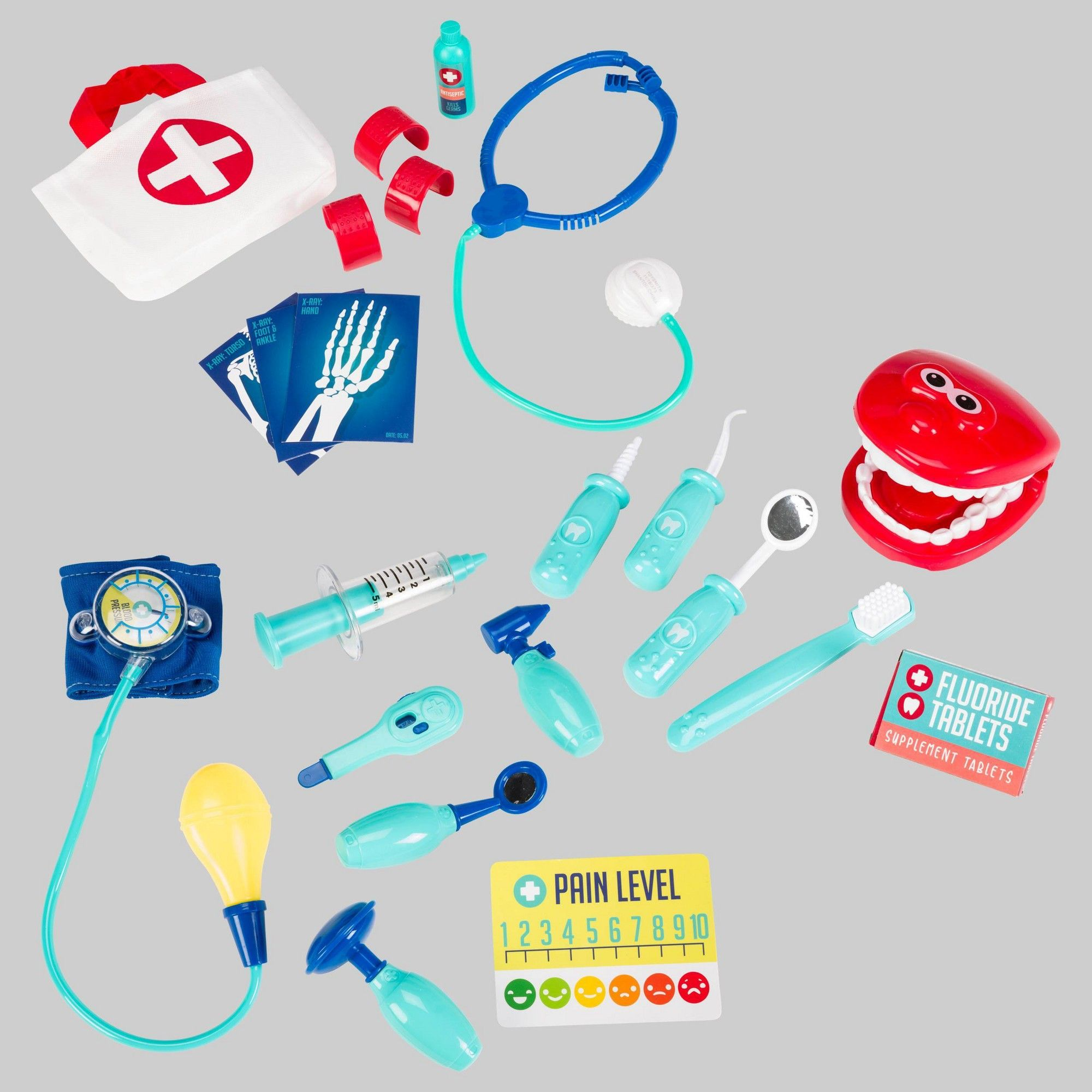 21pc Medical Dress Up Accessories
