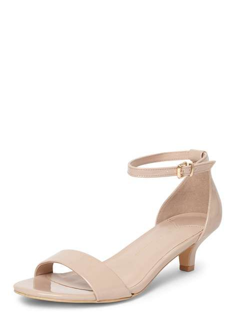 b9f18499584 Wide Fit Nude 'Sundae' Sandals - Shoes & Boots- Dorothy Perkins ...