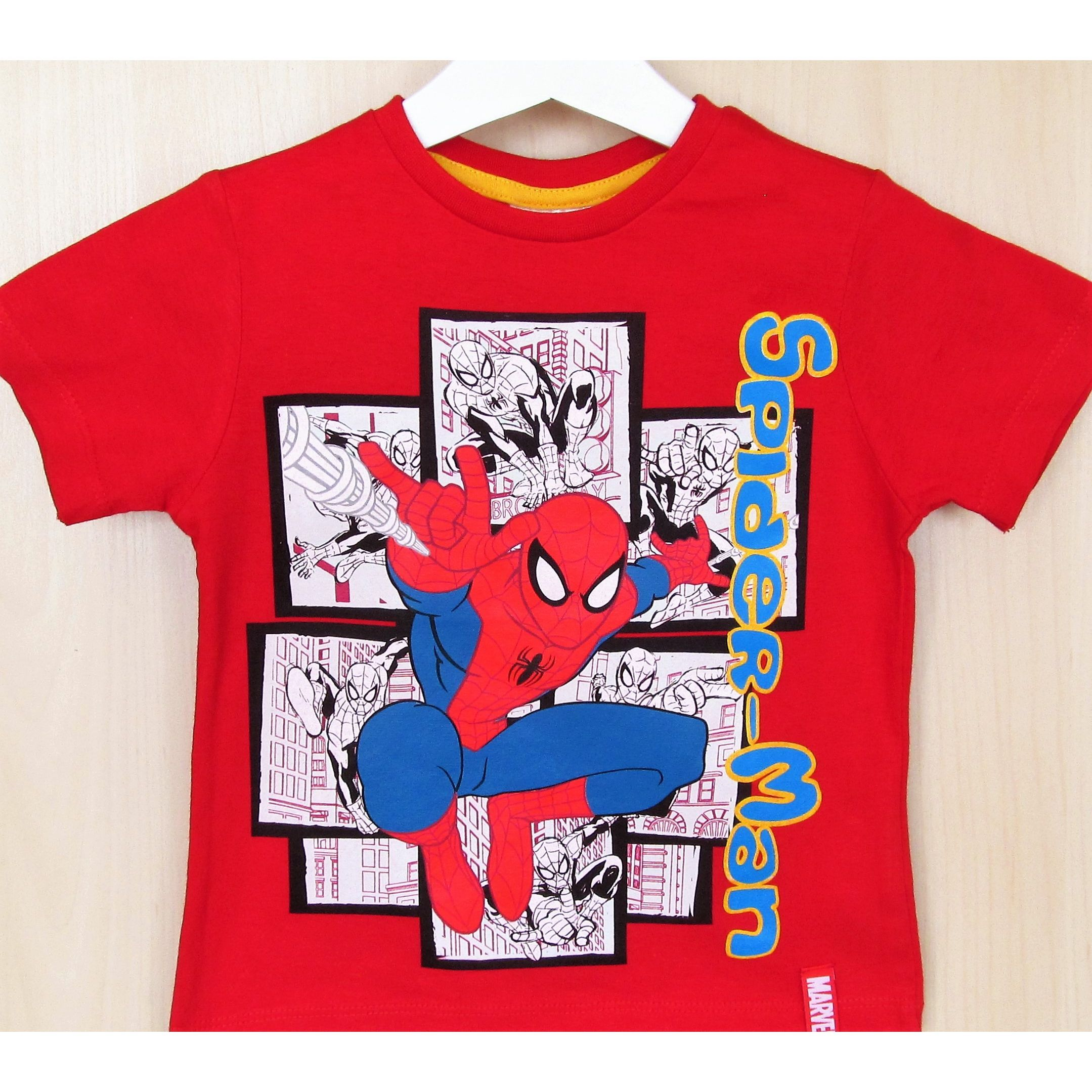 Camiseta Nino Spiderman Roja Mens Tops Mens Tshirts Mens