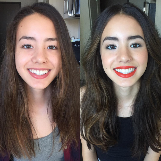 21 Mujeres que prueban que el maquillaje brillante es mejor