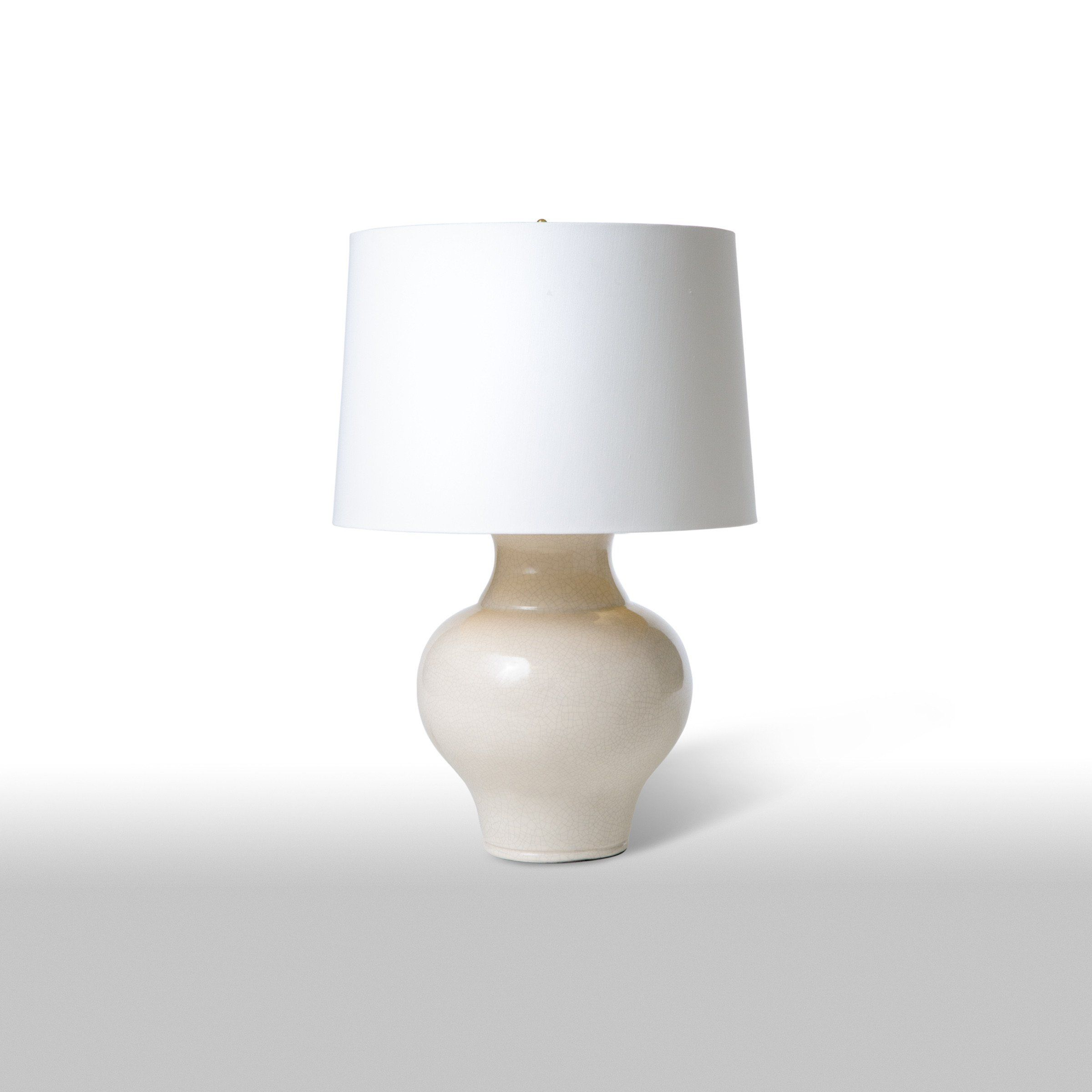 Cookie Jar Table Lamp Off White