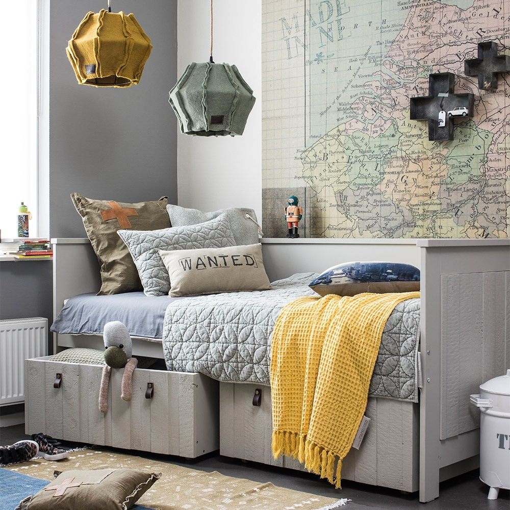 loft kids day bed in grey in 2019 home kids room teen boy rooms rh pinterest com