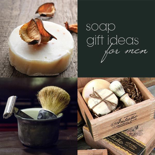 Diy Recipes Soap Gift Ideas For Men Great Idea Holiday Gifts