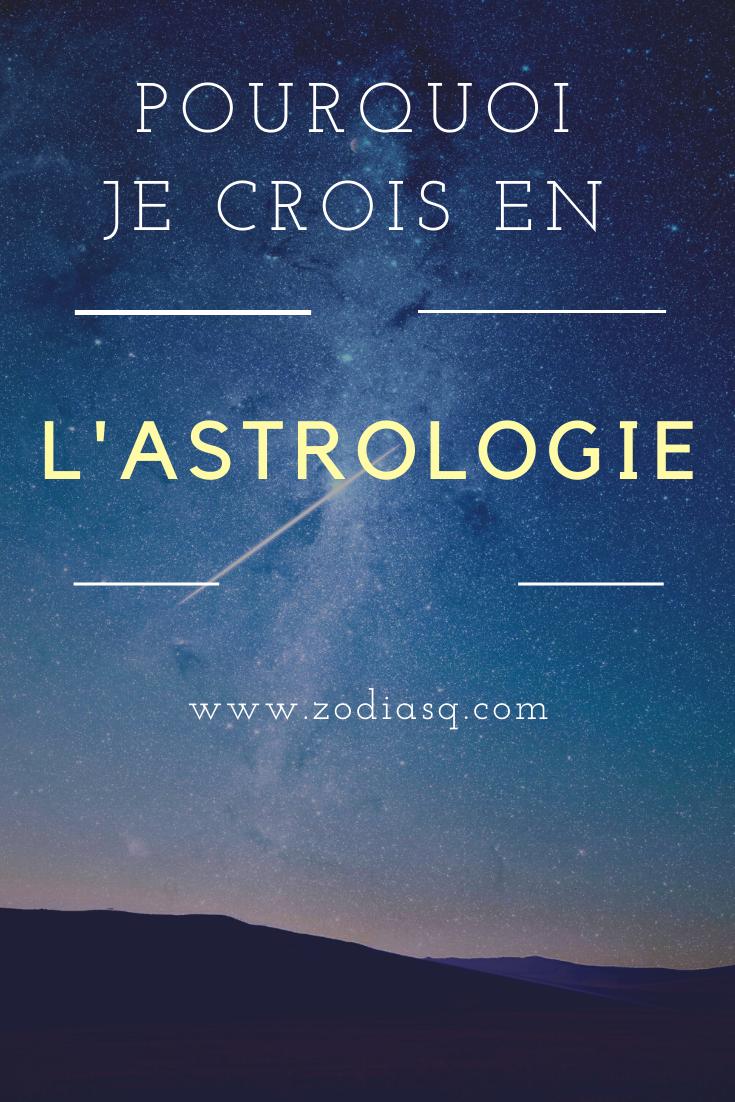 Pourquoi Est Ce Que Je Crois En L Astrologie Astrologie Crues Blog