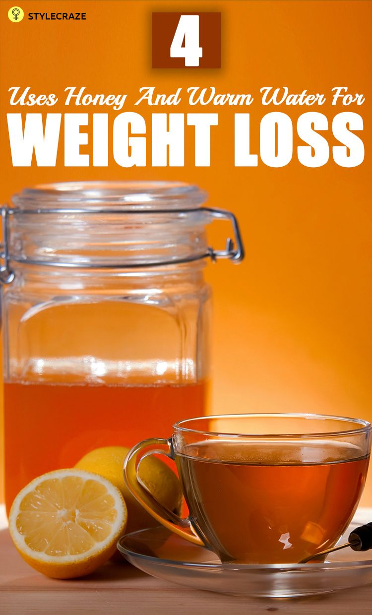 4 Simple Ways To Use Honey And Warm Water For Weight Loss