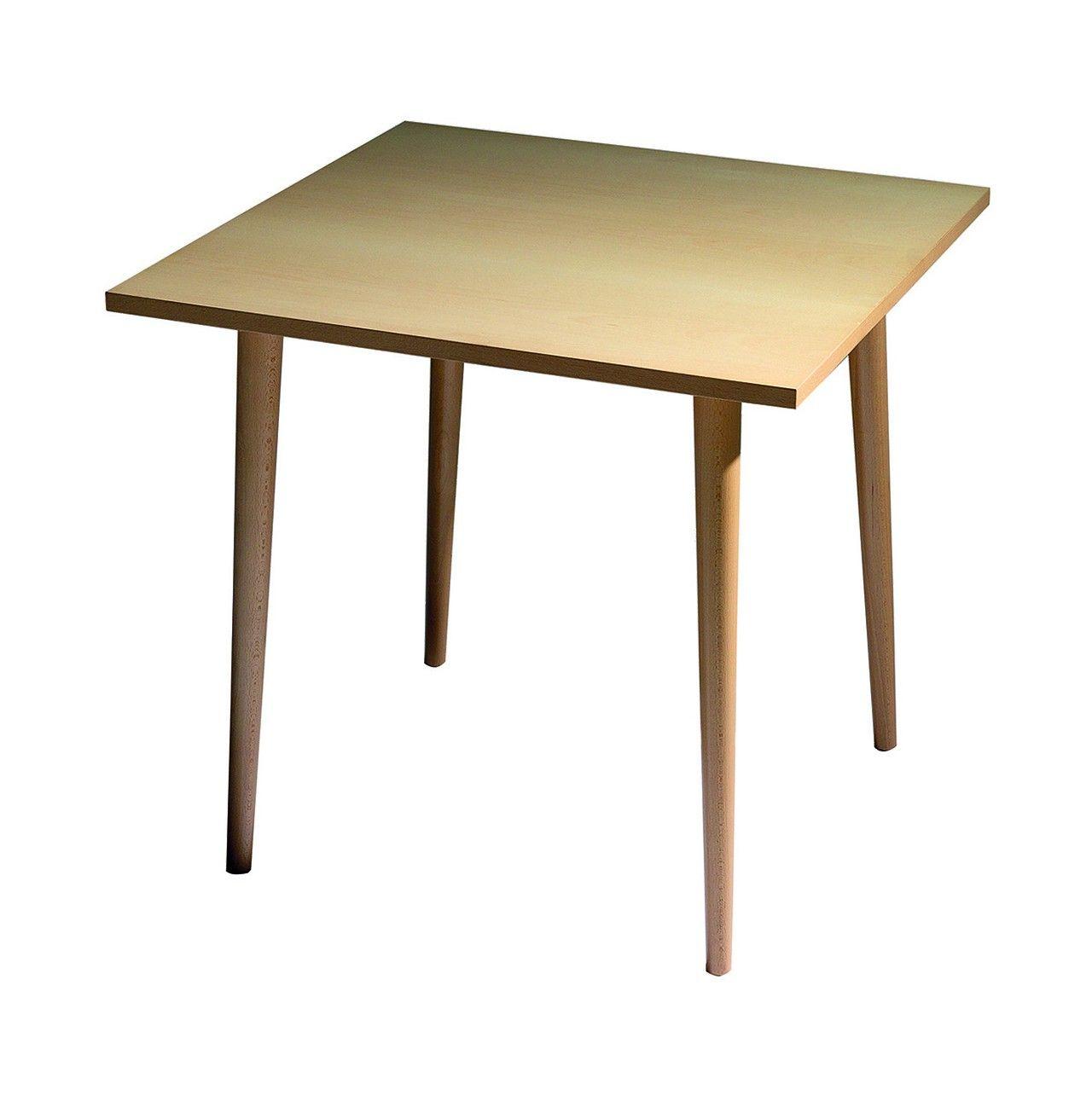 Mesa de madera cuadrada de 4 patas perfectas para - Mesas de cocina diseno ...