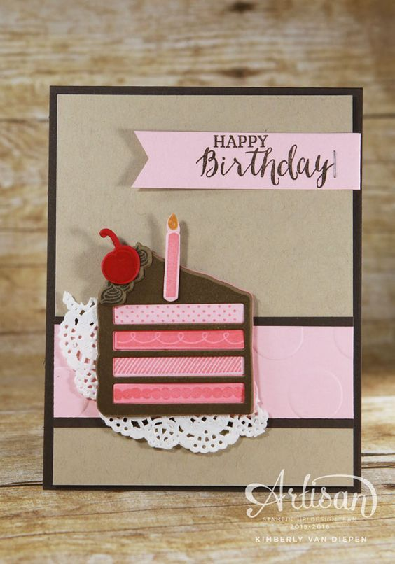 Little Known Ways To Embellish A Card Simple Birthday Cards Cards