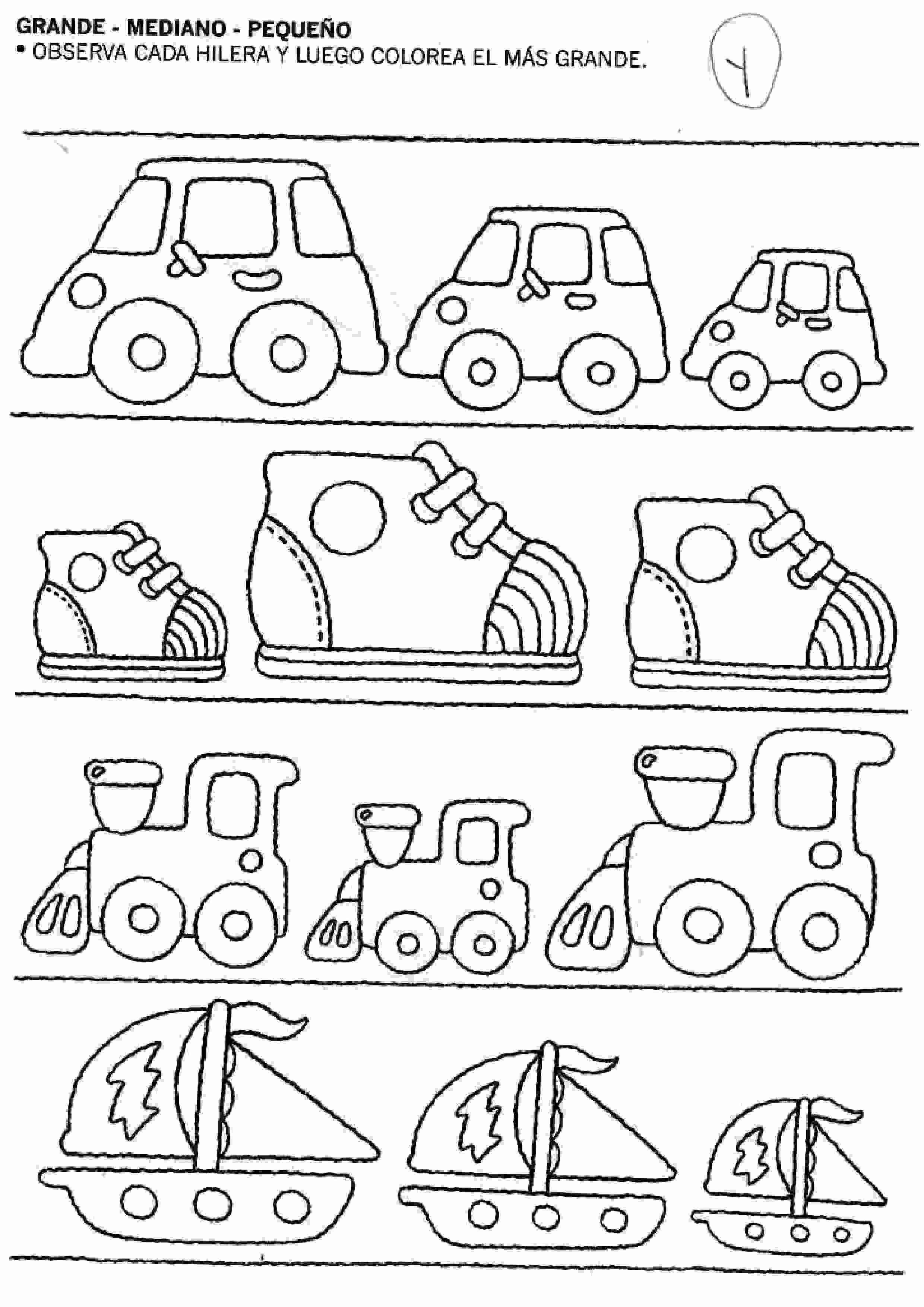 Actividades para niños preescolar, primaria e inicial. Relacionar y ...