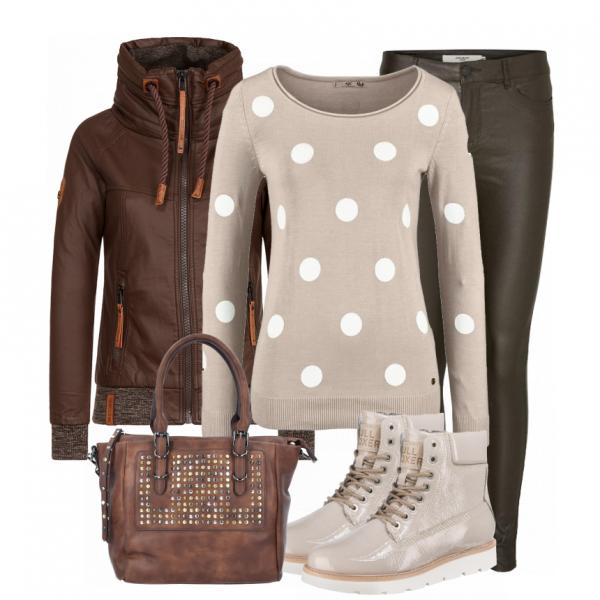 winter outfits grungelook bei schick in strick ein kuscheliges outfit f r. Black Bedroom Furniture Sets. Home Design Ideas