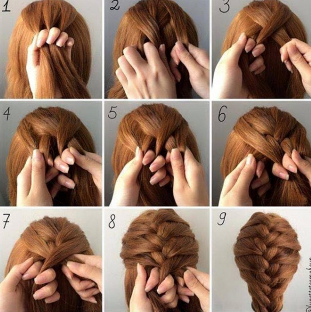 30 French Braids Hairstyles Step by Step  How to French ...