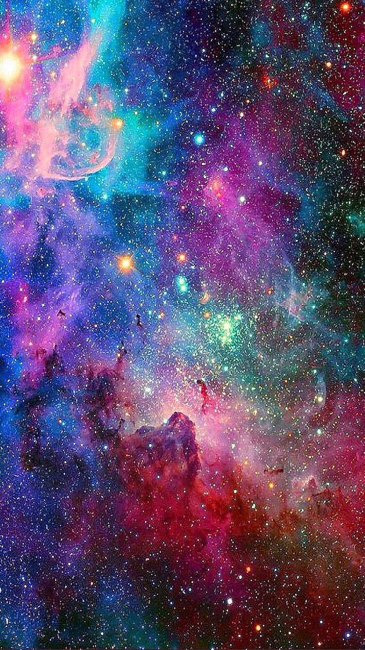 Galaxy Iphone 6 6s Wallpaper Galaxy Wallpaper Galaxy Space Galaxy