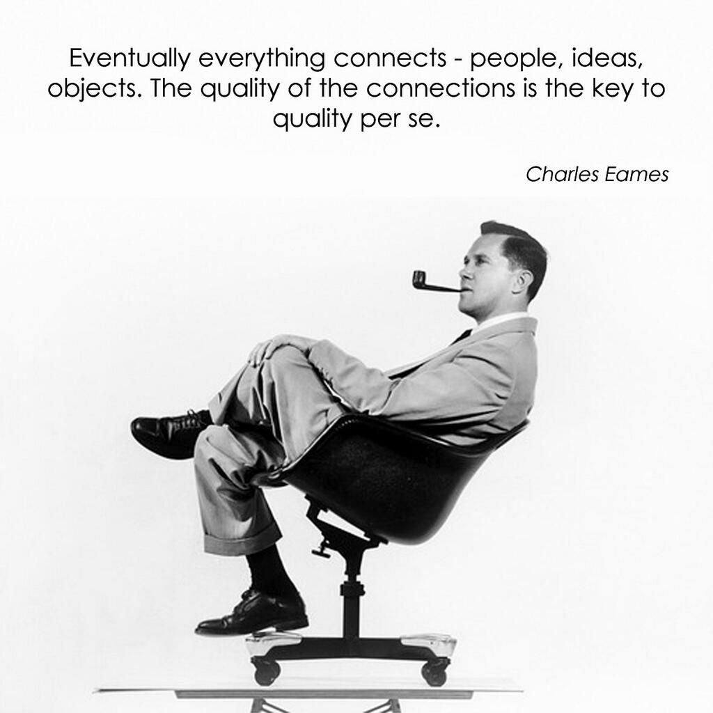 charles eames quote designquote design pinterest. Black Bedroom Furniture Sets. Home Design Ideas