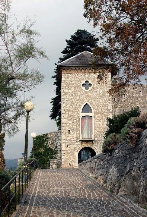 Entrance to Trsat's Fortress, Rijeka, Croatia