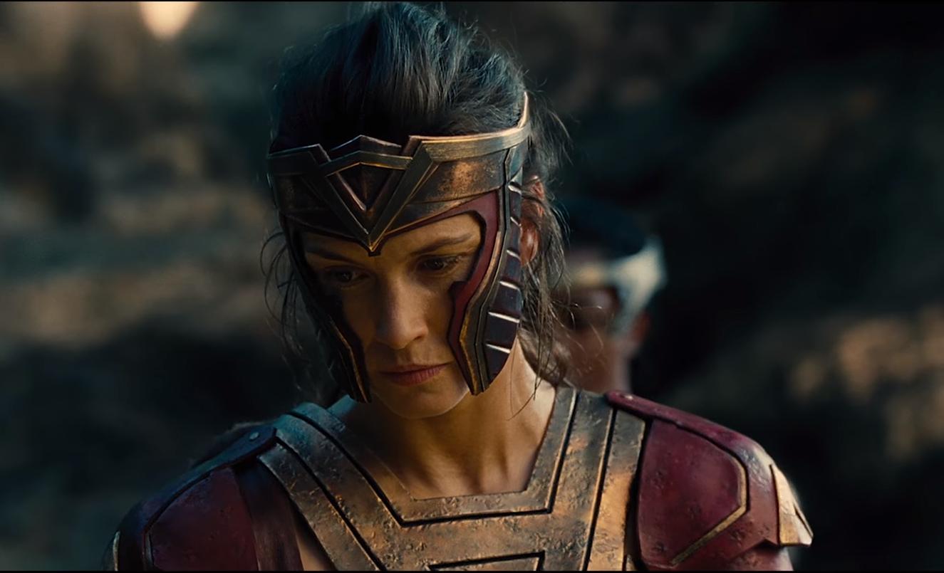 Menalippe Wonder Woman Warrior Woman Comic Movies