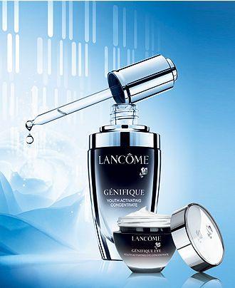 Lancome Genifique Collection Reviews Skin Care Beauty Macy S In 2020 Lancome Skincare Lancome Skin Care